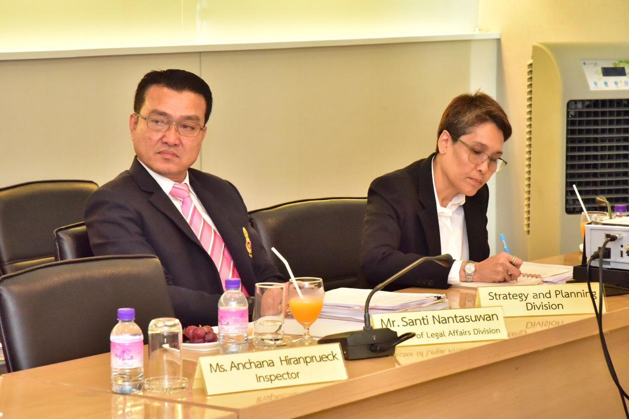 อธิบดีกรมการจัดหางานให้การต้อนรับเอกอัครราชทูตสาธารณรัฐฟินแลนด์ประจำประเทศไทย