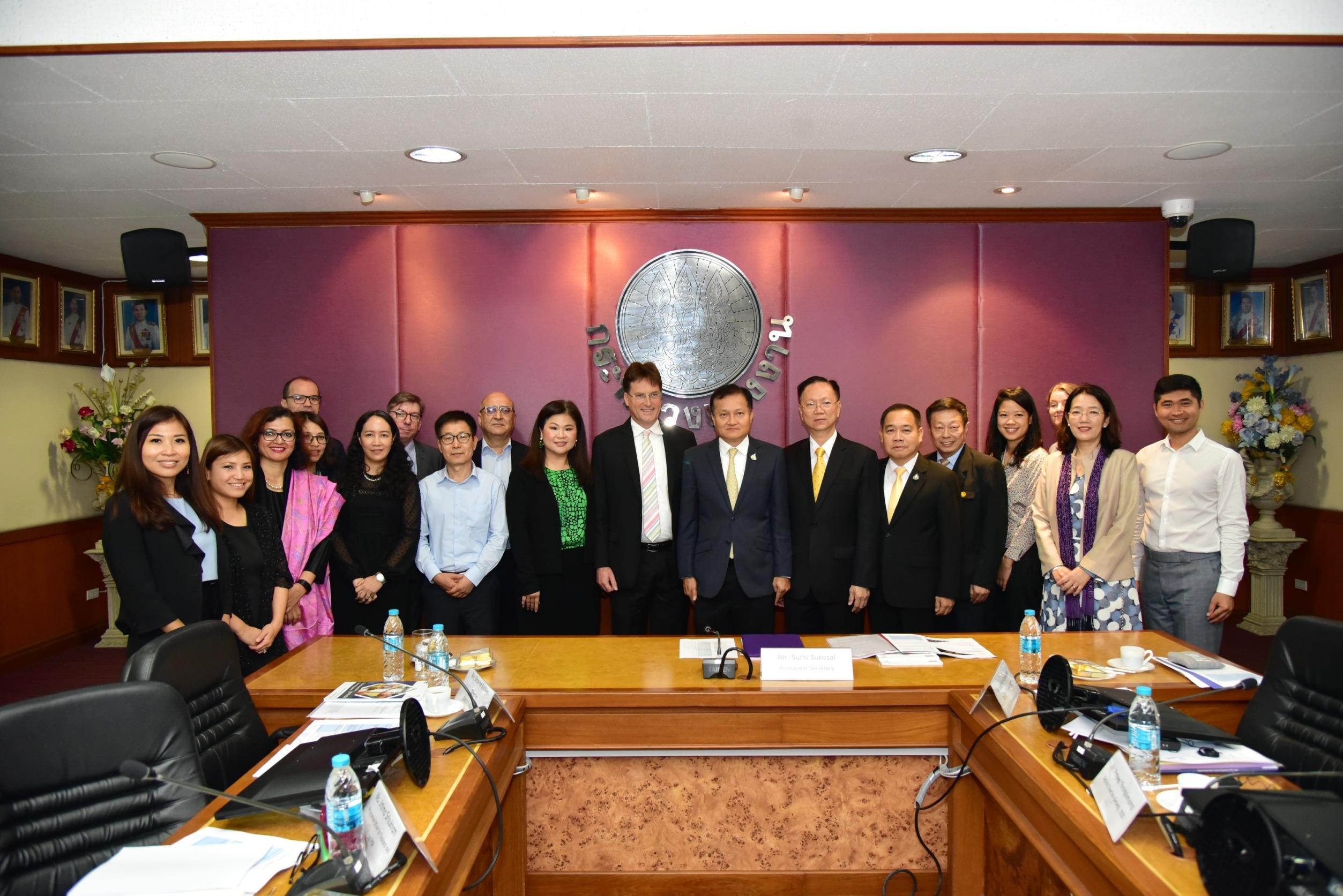 กรมการจัดหางาน  ร่วมประชุม MOL-ILO Strategic Meeting