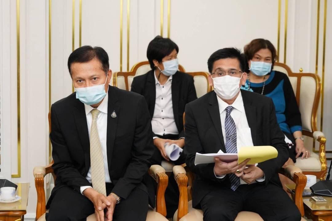 อธิบดีกรมการจัดหางาน ร่วมให้การต้อนรับผู้ว่าการการท่องเที่ยวแห่งประเทศไทย และคณะ
