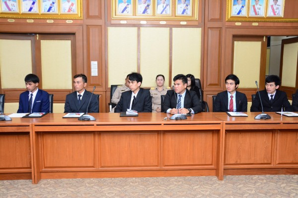 มอบประกาศนียบัตรและเงินสนับสนุนการประกอบอาชีพแก่ผู้สำเร็จการฝึกปฏิบัติงานเทคนิคในประเทศญี่ปุ่น โดยผ่านองค์กร IM ประเทศญี่ปุ่น ณ ห้องประชุมเทียน อัชกุล ชั้น 10 กรมการจัดหางาน