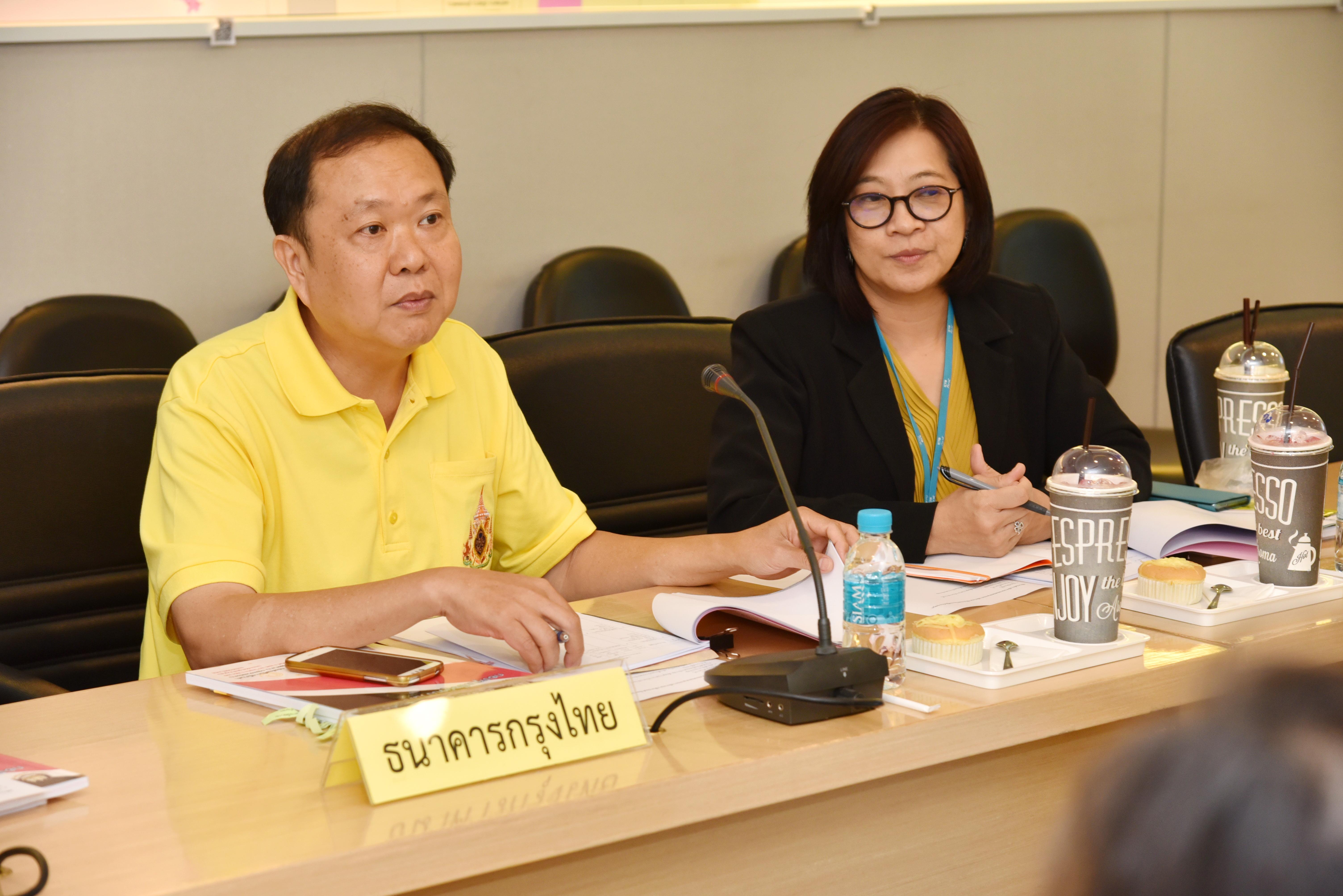 กรมการจัดหางาน ประชุมคณะอนุกรรมการพิจารณากลั่นกรองคำร้องขอกู้ยืมเงินกองทุนเพื่อผู้รับงานไปทำที่บ้าน ครั้งที่ 5/2562