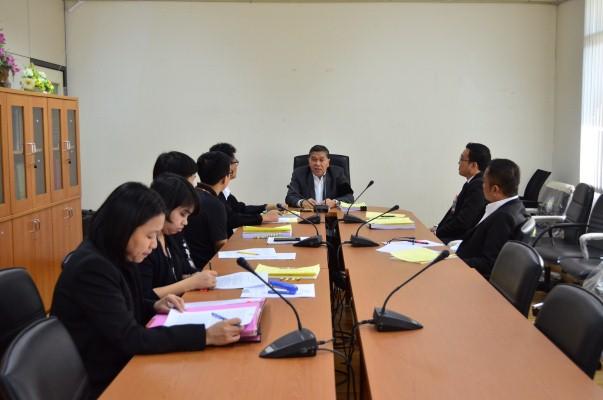 ประชุมคณะกรรมการเปรียบเทียบตามพระราชบัญญัติการทำงานของคนต่างด้าว พ.ศ.2551 ณ ห้องประชุมกองนิติการ กรมการจัดหางาน