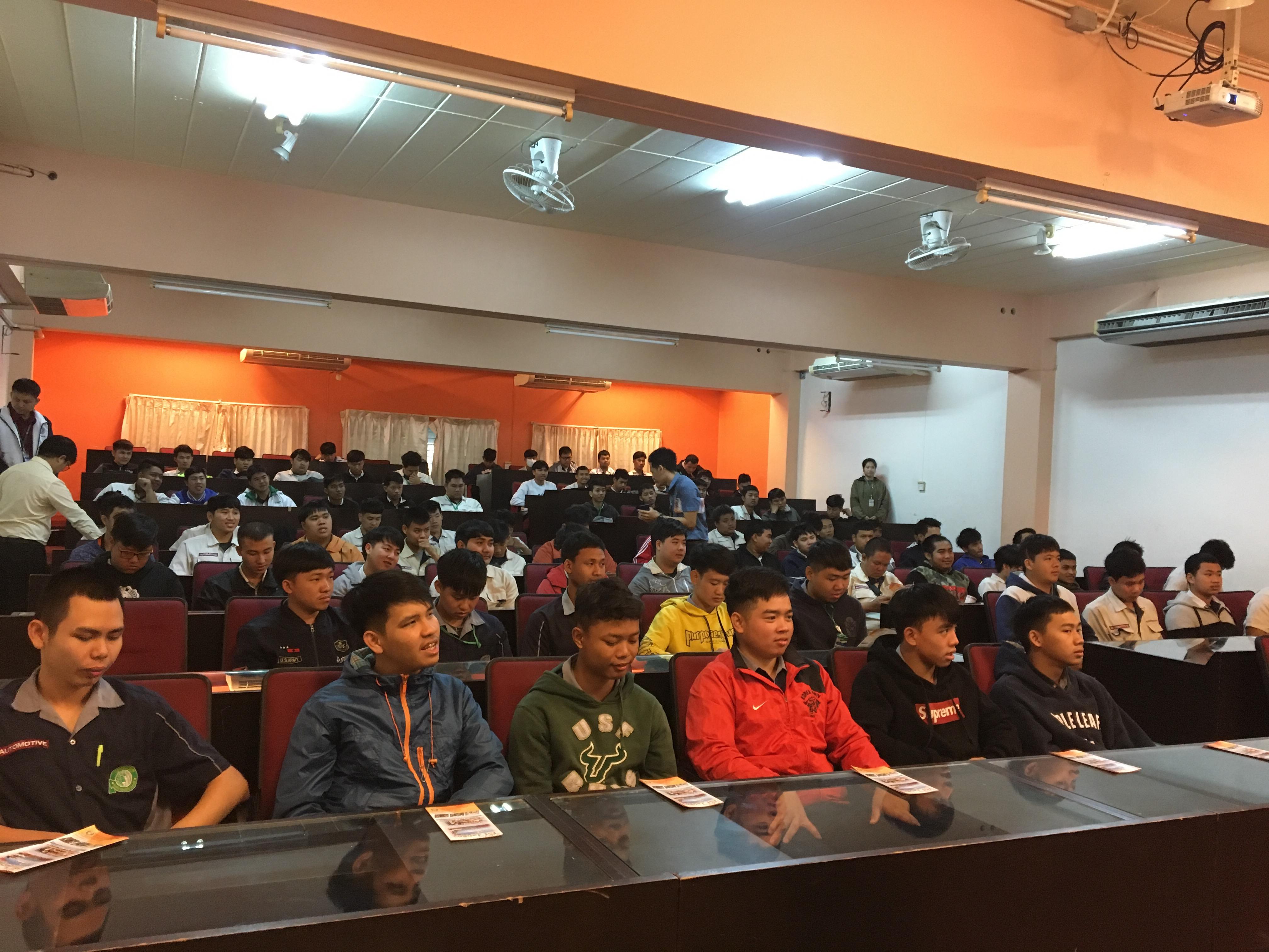 ประชาสัมพันธ์โครงการจัดส่งผู้ฝึกปฏิบัติงานเทคนิคคนไทยไปฝึกงานในประเทศญี่ปุ่นในสถานศึกษา