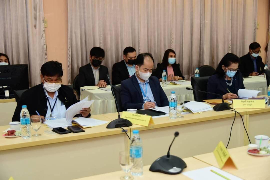 การประชุมคณะอนุกรรมการติดตามและประเมินผลการดำเนินงานและผลการใช้จ่ายเงินกองทุนฯ ครั้งที่ 2/2564