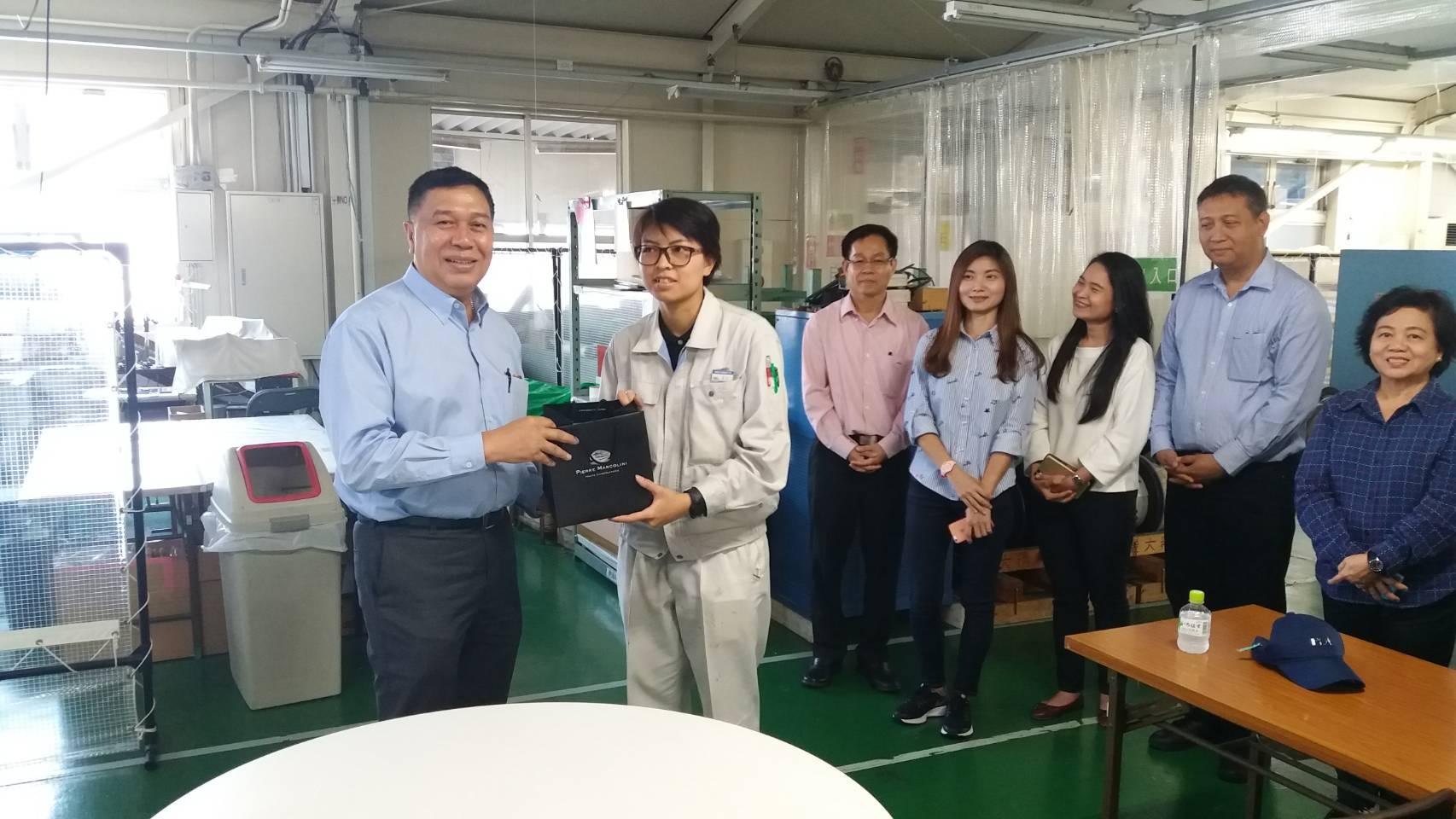 ตรวจเยี่ยมแรงงานไทย จำนวน 18 คน บริษัท HOTTA ELECTRIC CO.,LTD