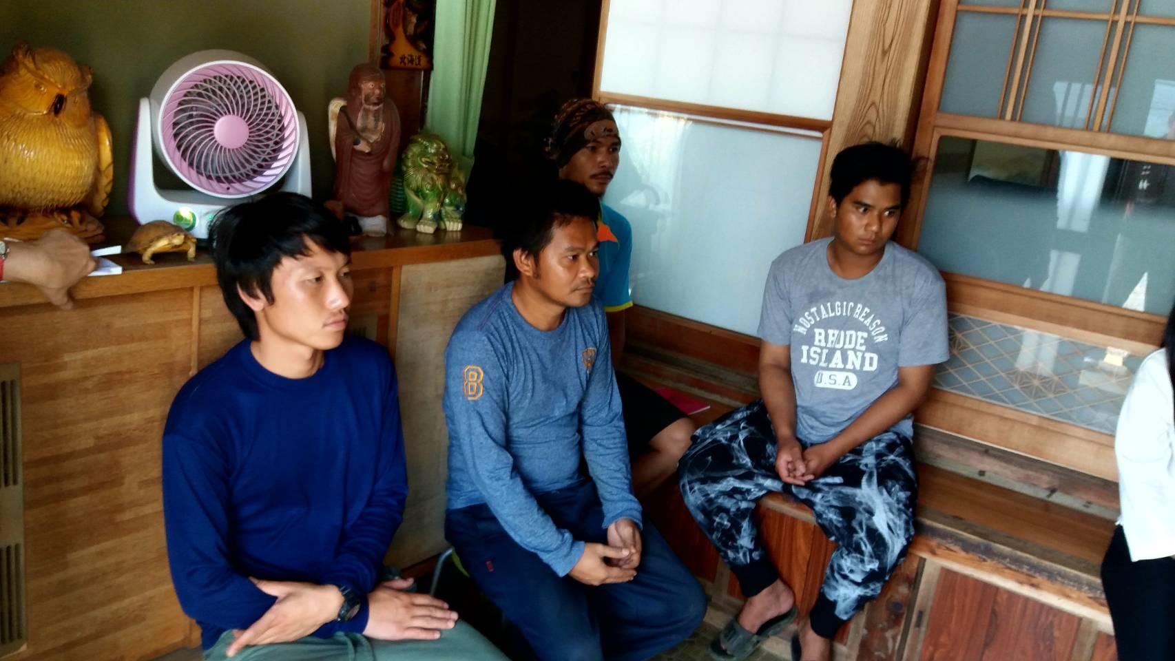 ตรวจเยี่ยมแรงงานไทย จำนวน 5 คน บริษัท ARAKAWA TAMOTSU