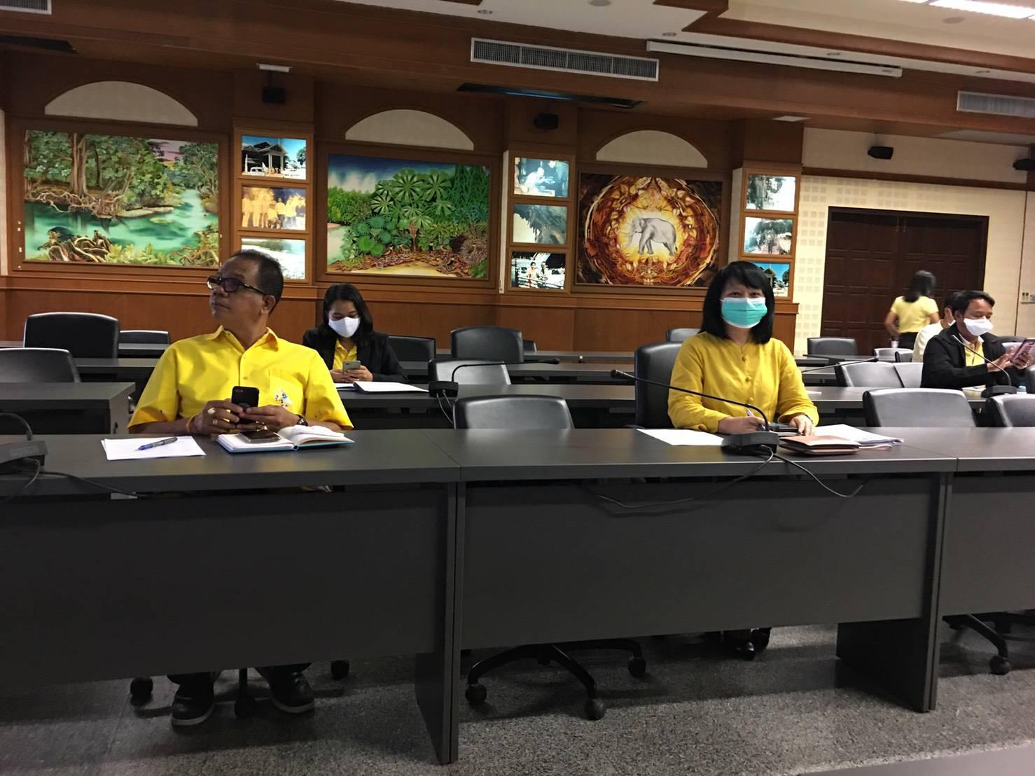 ร่วมประชุมคณะทำงานการจัดระเบียบ เกาะพีพี ตำบลอ่าวนาง อำเภอเมือง จังหวัดกระบี่