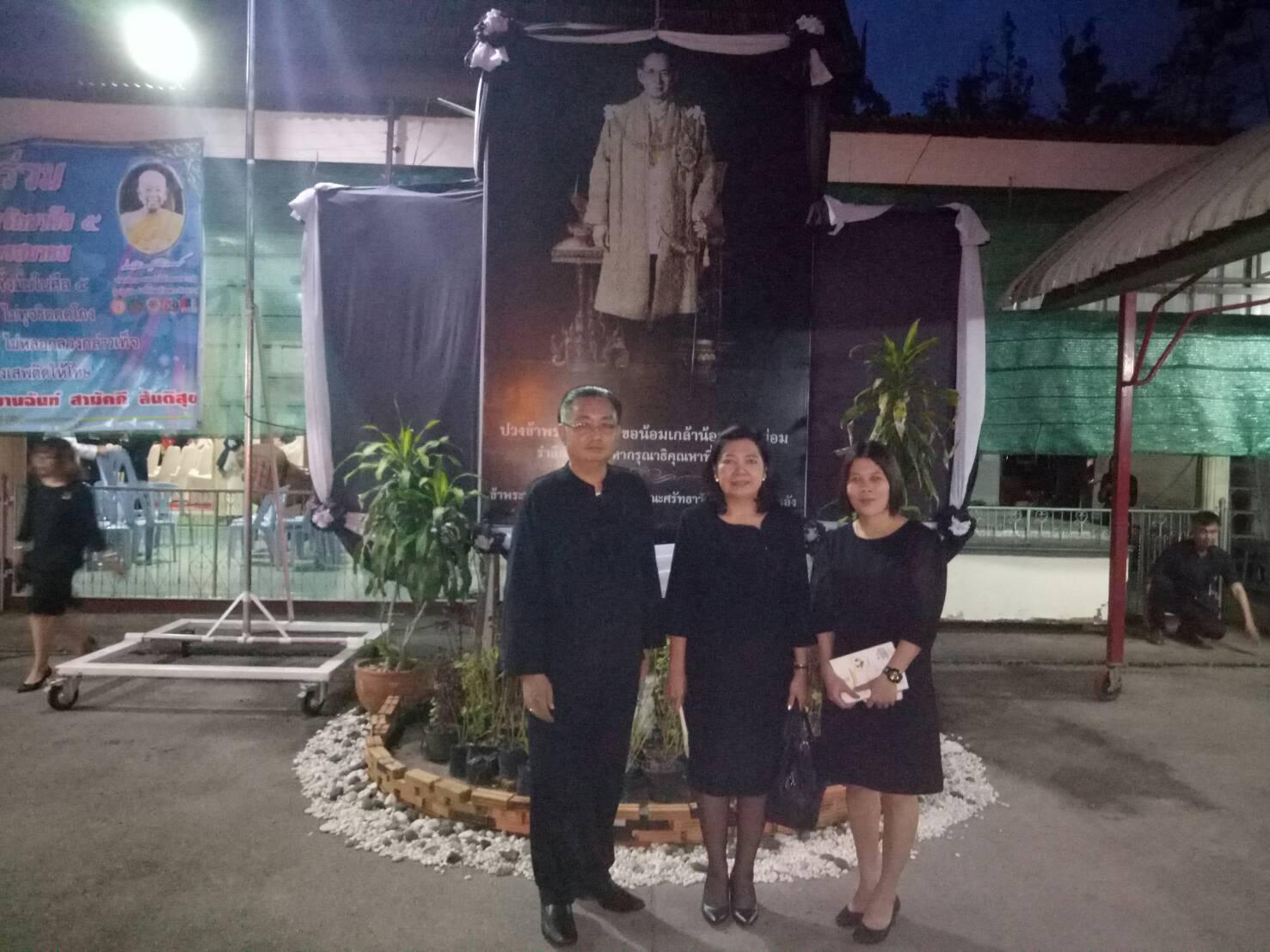 วันที่ 27 กรกฎาคม 2560 เวลา 17.00 น. สำนักงานจัดหางานจังหวัดลำปางร่วมพิธีเจริญพระพุทธมนต์