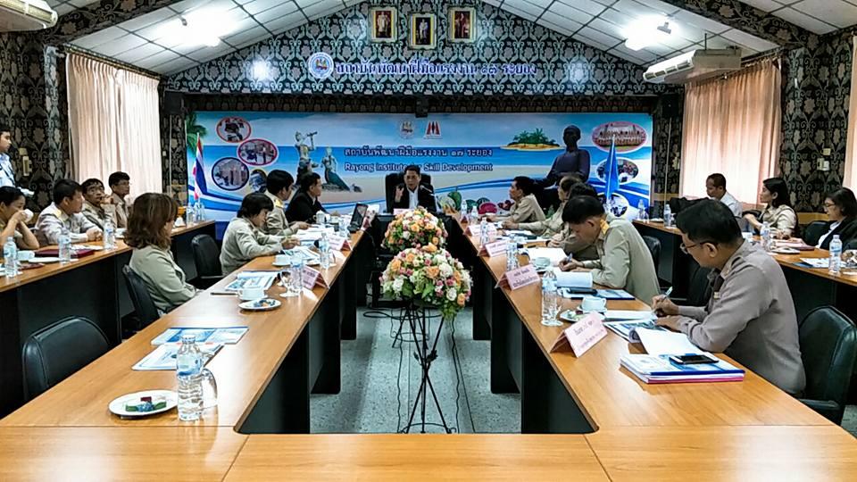 ก.แรงงาน สำรวจพื้นที่ระยอง เตรียมคนรับอุตสาหกรรม เขต EEC
