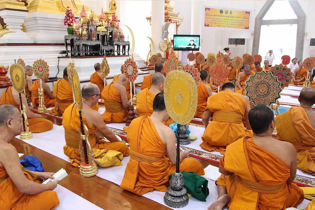 พิธีเจริญพระพุทธมนต์สมโภชพระพุทธรูปสำคัญประจำจังหวัด  เพื่อถวายพระราชกุศล