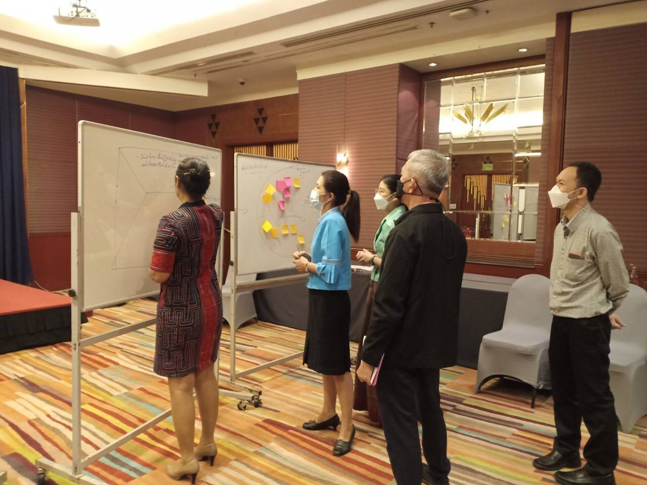 จัดการสนทนากลุ่ม (Focus Group) โครงการวิจัย เรื่อง การส่งเสริมการมีงานทำให้ครัวเรือนยากจน