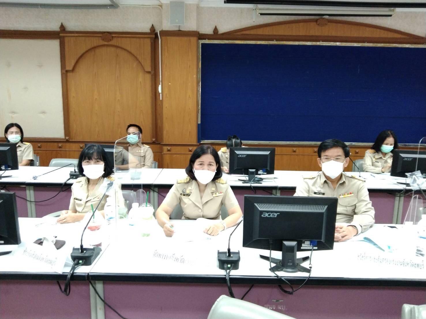 สำนักงานจัดหางานจังหวัดลพบุรี เข้าร่วมการประชุมชี้แจงขับเคลื่อนโครงการเพิ่มทักษะด้านอาชีพแก่นักเรียน