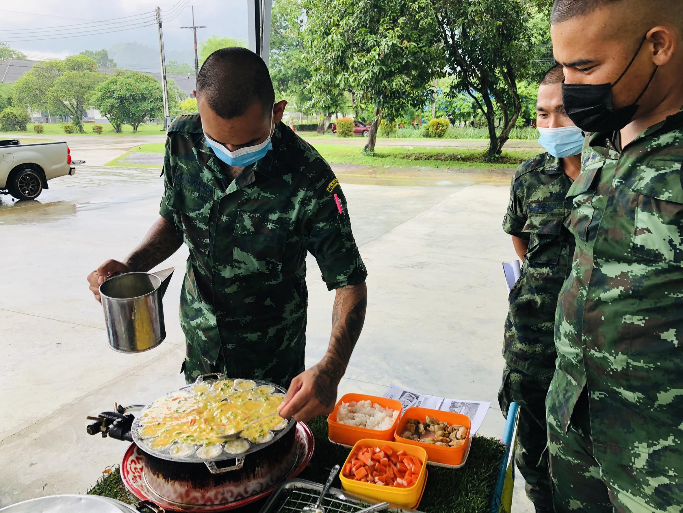 29 เม.ย.64 ดำเนินกิจกรรมส่งเสริมการมีงานทำให้ทหารกองประจำการที่จะปลดเป็นทหารกองหนุน ประจำปี 2564