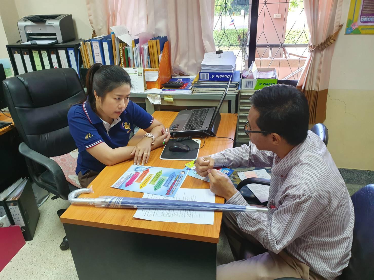 ดำเนินโครงการขยายเครือข่ายข้อมูลข่าวสารตลาดแรงงานสู่ตำบล หมู่บ้าน