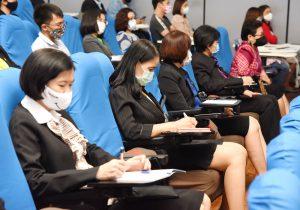 'หม่อมเต่า' เปิดประชุม 'รับฟังข้อเสนอแนะจากผู้รับอนุญาตจัดหางานฯ ร่วมเตรียมแผนส่งออกแรงงานทันทีหลังโควิด-19 คลี่คลาย