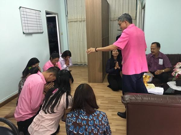 ประเพณีวังสงกรานต์ สืบสานวัฒนธรรมไทย รดน้ำดำหัวจัดหางานจังหวัดปัตตานี