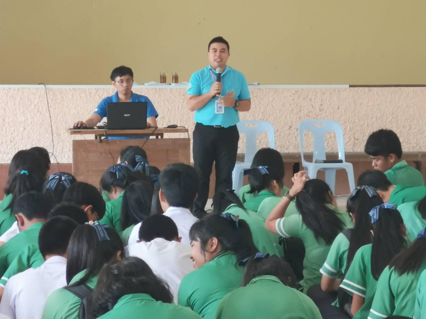โครงการแนะแนวอาชีพ นักเรียน นักศึกษา โรงเรียนตะกั่วป่าเสนานุกูล