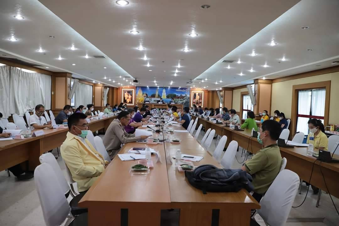 จัดหางานจังหวัดพิษณุโลก ร่วมประชุมคณะกรรมการศูนย์ดำรงธรรมจังหวัดพิษณุโลก