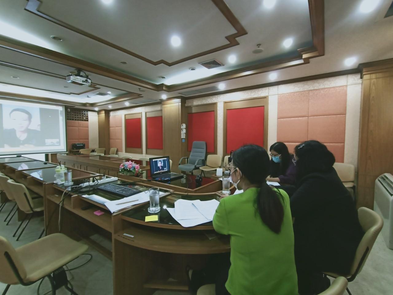 สำนักงานจัดหางานจังหวัดพิษณุโลก ได้ดำเนินการสอบสัมภาษณ์ผู้มีสิทธิสอบสัมภาษณ์ เจ้าหน้าที่ผู้ช่วยปฏิบัติงาน ตามโครงการจ้างงานเพื่อลดผลกระทบจากการแพร่ระบาดของไวรัส COVID - 19