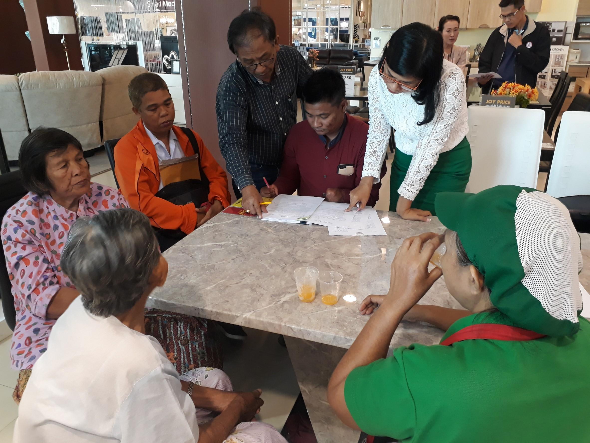 สจจ. ประจวบฯ ดำเนินการตรวจสอบการขอรับสิทธิตามมาตรา 35 ของคนพิการและผู้ดูแลคนพิการ
