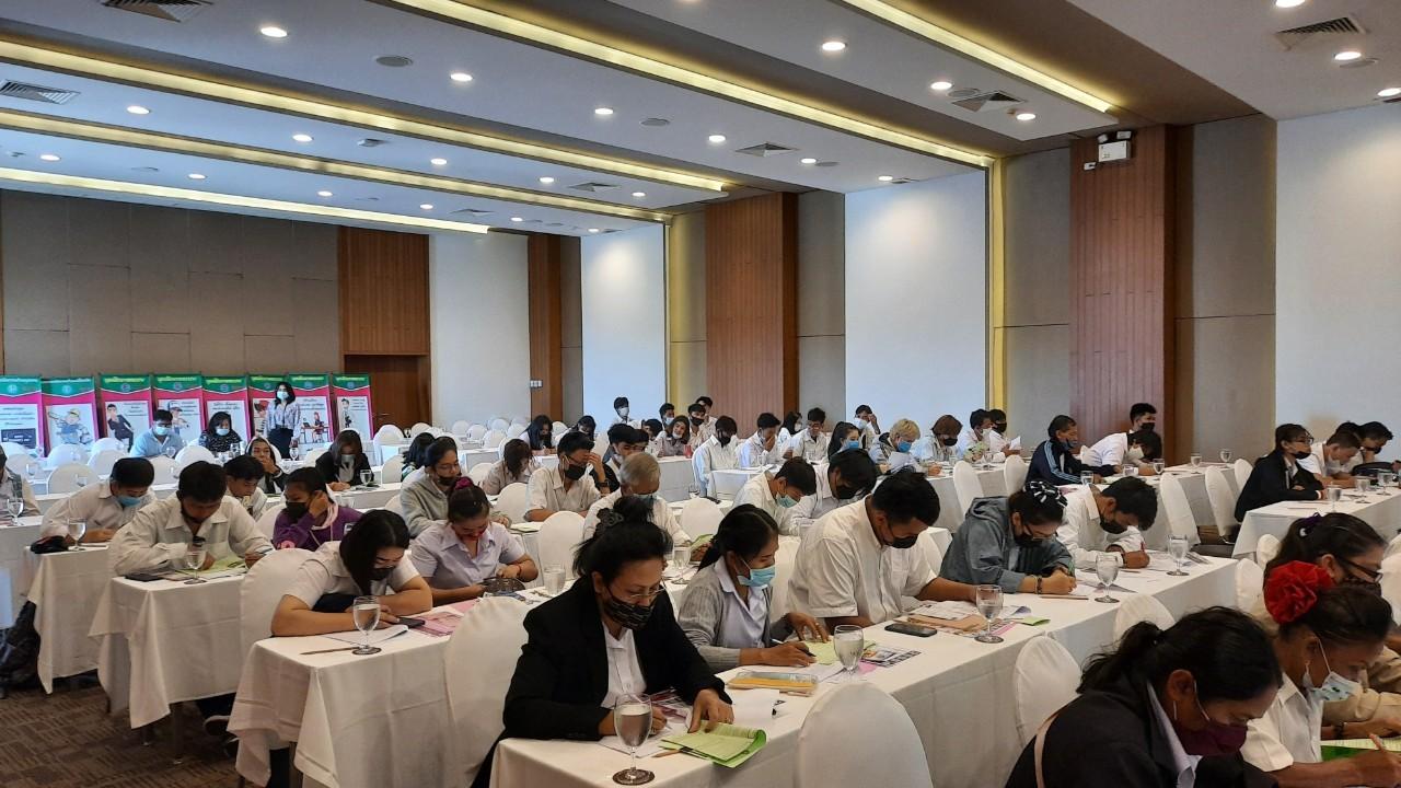 แนะแนวอาชีพ ตามโครงการเตรียมความพร้อมแก่กำลังแรงงาน กิจกรรมแนะแนวอาชีพให้นักเรียน นักศึกษา
