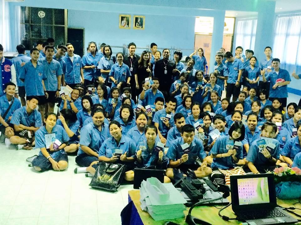 สำนักงานจัดหางานจังหวัดระนอง มอบหมายให้ข้าราชการ และเจ้าหน้าที่ ออกแนะแนวอาชีพให้แก่นักเรียนนักศึกษา