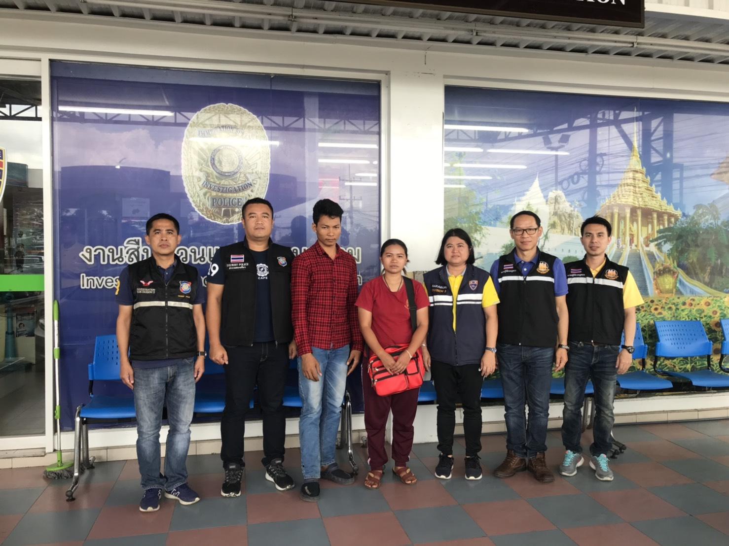 สำนักงานจัดหางานจังหวัดสระบุรีออกตรวจสอบสถานประกอบการและการทำงานของคนต่างด้าวแย่งอาชีพคนไทย