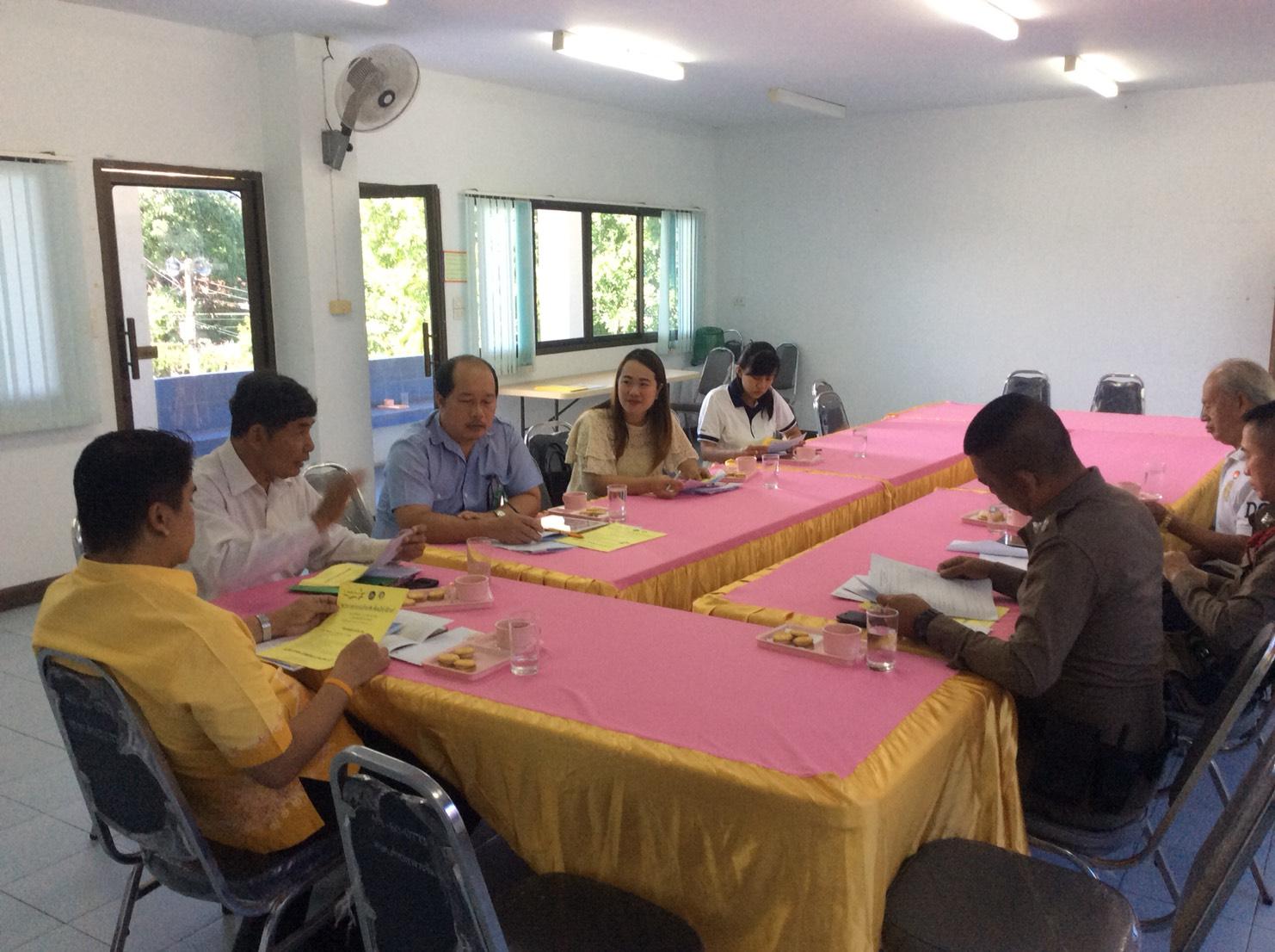 ร่วมโครงการศูนย์บูรณาการร่วมในการป้องกันและแก้ไขฟื้นฟูผู้กระทำผิดในชุมชน