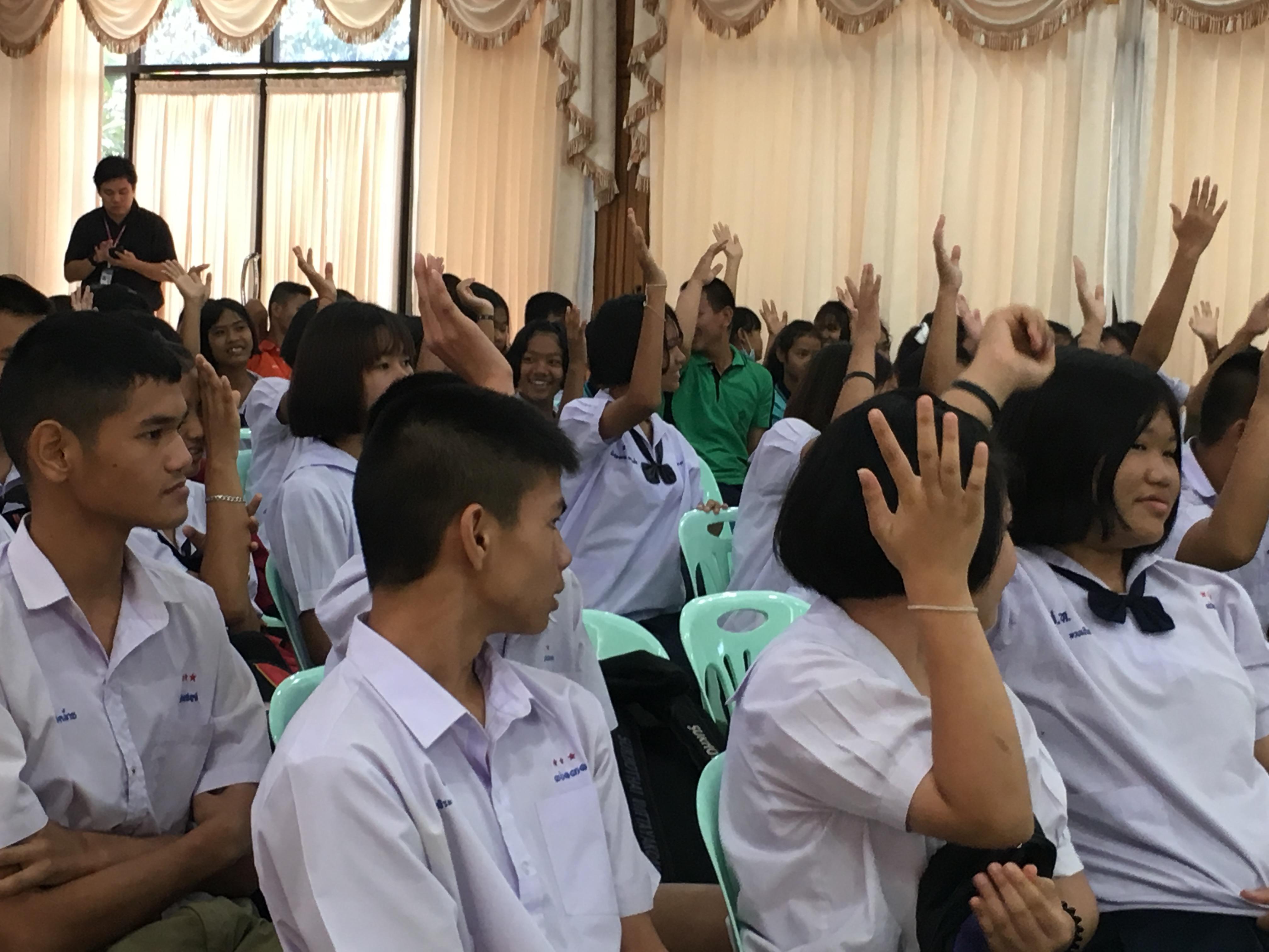 วันที่ 31 สิงหาคม 2560 เวลา 09.00 น. เจ้าหน้าที่สำนักงานจัดหางานจังหวัดสุโขทัย ร่วมบรรยายให้ความรู้เ