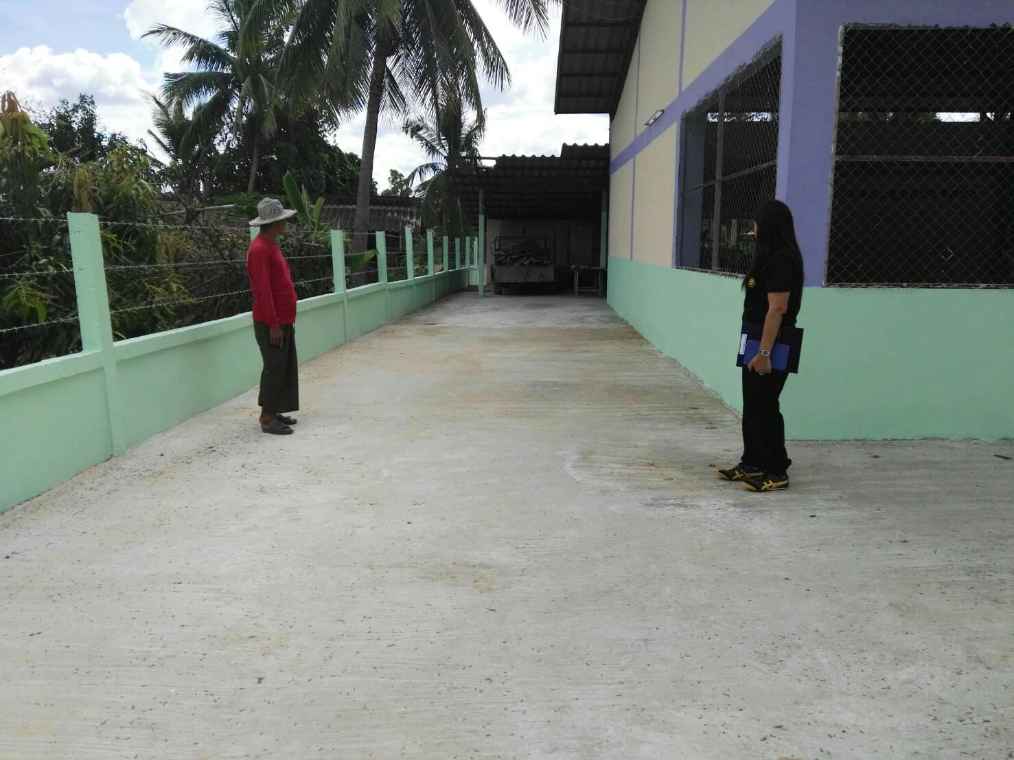 จัดหางานสุรินทร์ ลงพื้นที่ติดตามโครงการยกระดับศักยภาพหมู่บ้านฯ