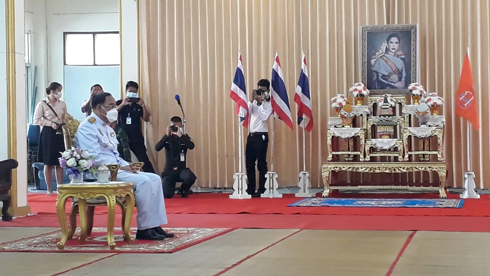สำนักงานจัดหางงานจังหวัดสุรินทร์ เข้าร่วมพิธีเจริญพระพุทธมนต์สมเด็จพระเจ้าน้องนางเธอ เจ้าฟ้าจุฬาภรณ