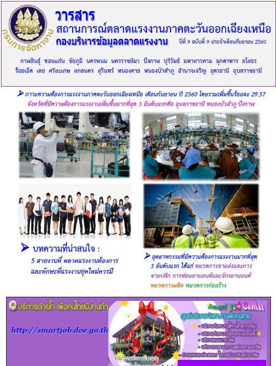 สถานการณ์ตลาดแรงงานภาค ฯ 09-10
