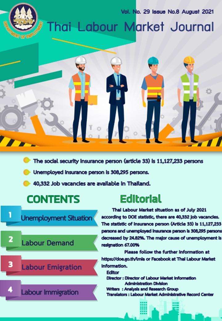 Thai Labour Market Journal (August 2021)
