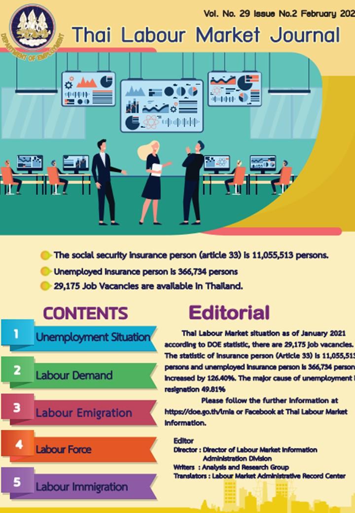 Thai Labour Market Journal (February 2021)