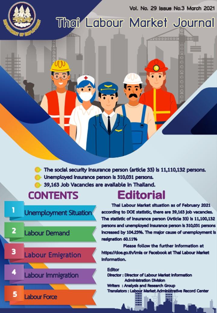 Thai Labour Market Journal (March 2021)