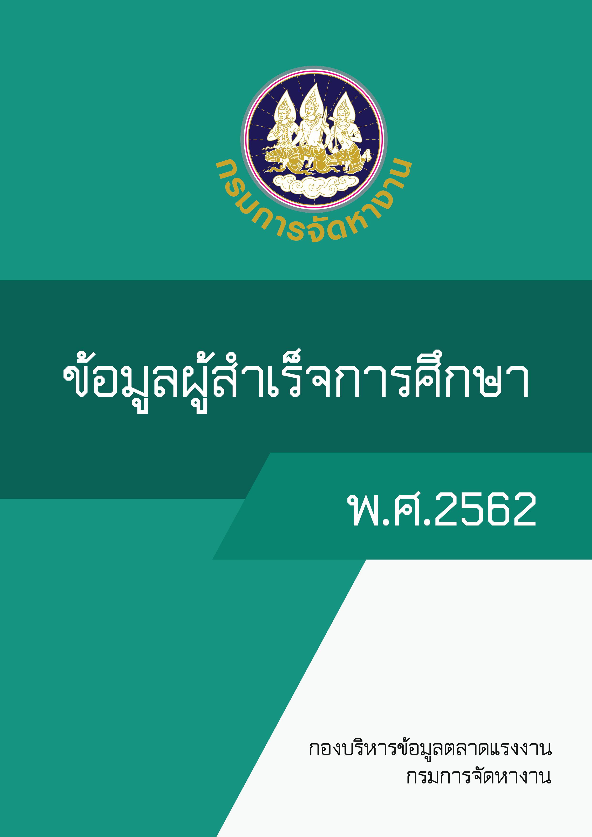 33.ข้อมูลผู้สำเร็จการศึกษา พ.ศ.2562