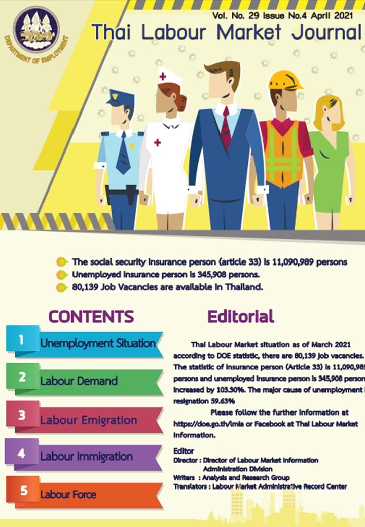 Thai Labour Market Journal (April 2021)
