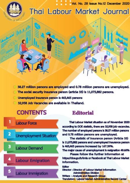 Thai Labour Market Journal (December 2020)