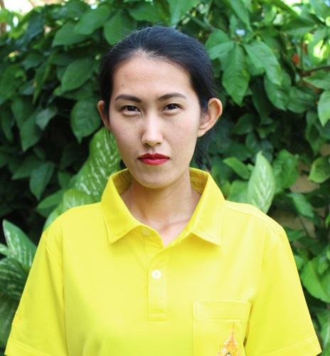 นางสาวจารุวรรณ  ช่วงชู