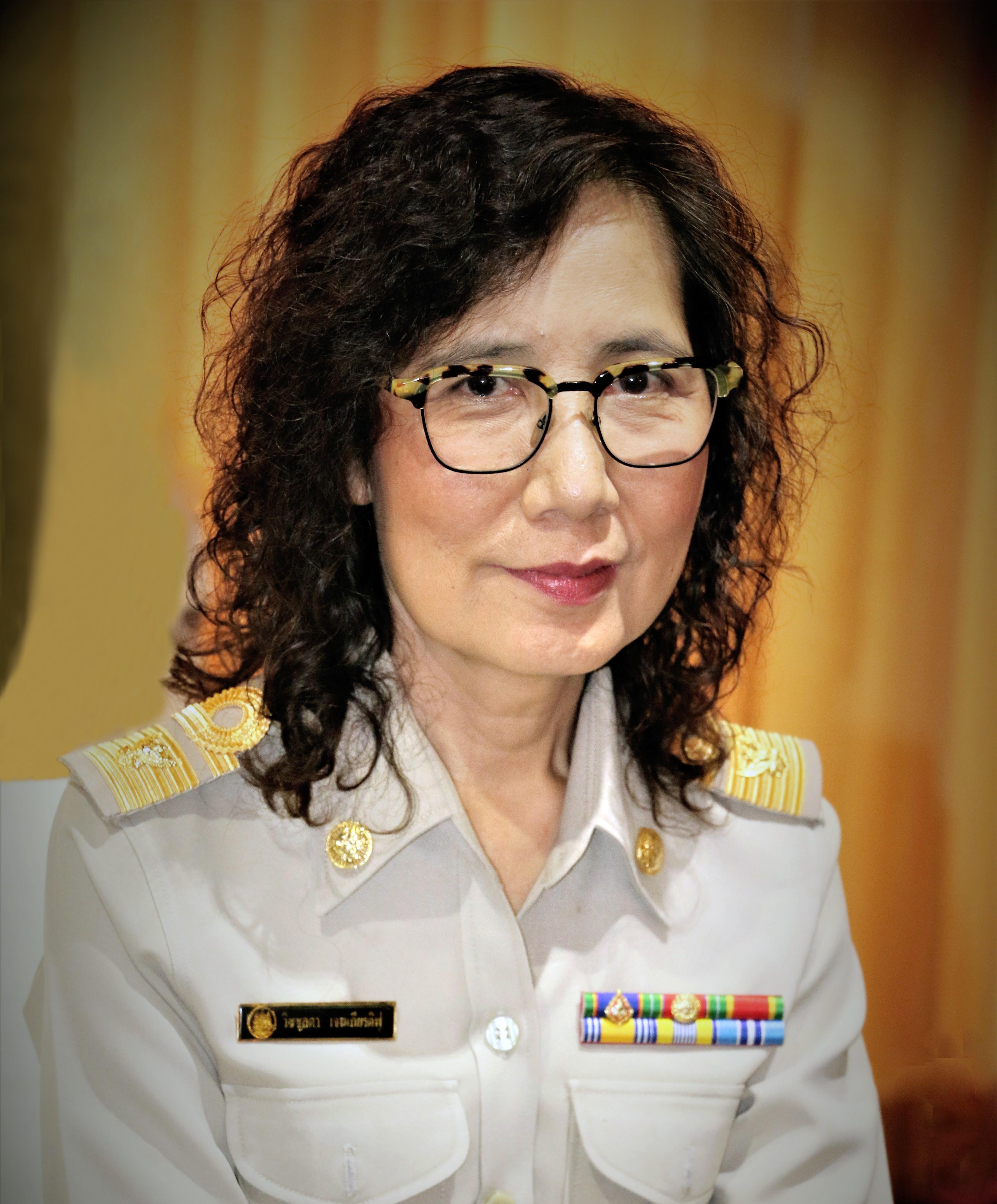 นางวิชชุลดา เจนเกียรติฟู